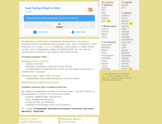 francais.lingvistov.net screenshot