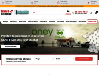 france-attelage.com screenshot