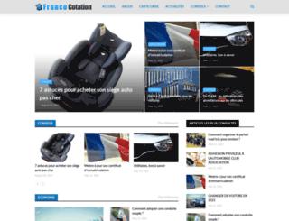 france-cotation.fr screenshot