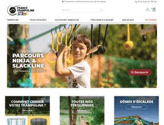 france-trampoline.com screenshot