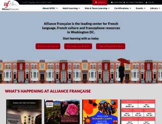 francedc.org screenshot
