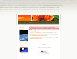 francescobonomi.it screenshot