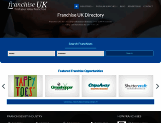 franchise-uk.co.uk screenshot