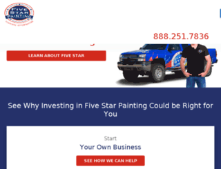 franchise.protectpainters.com screenshot