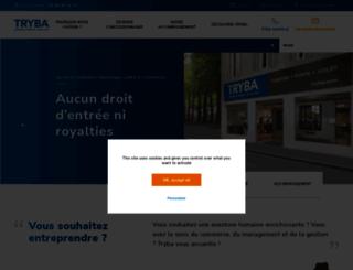 franchise.tryba.com screenshot