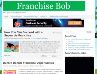 franchisebob.com screenshot
