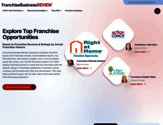 franchisebusinessreview.com screenshot
