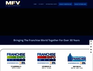 franchiseexpo.com screenshot