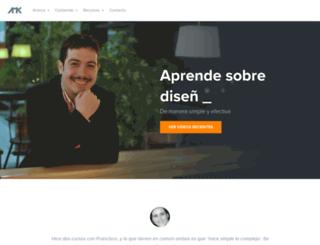 franciscoamk.com screenshot