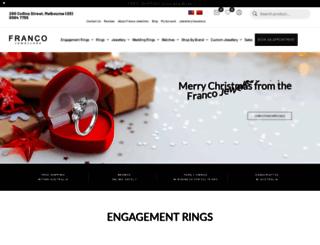 franco.com.au screenshot