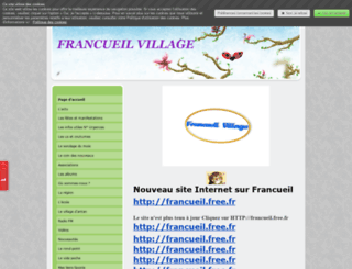 francueil.jimdo.com screenshot