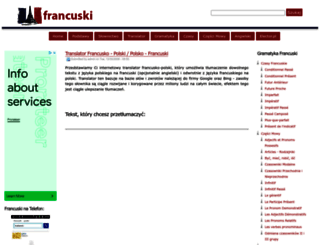 francuski.crib.pl screenshot