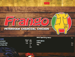 frangos.com.au screenshot