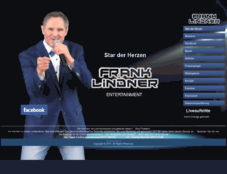 frank-lindner.com screenshot