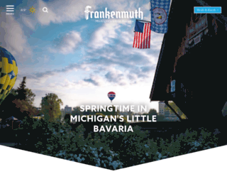frankenmuth.org screenshot