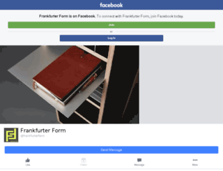 frankfurterform.de screenshot