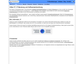 frankhissen.de screenshot