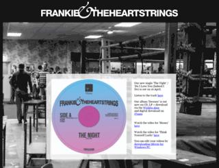 frankieandtheheartstrings.com screenshot