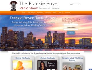 frankieboyer.com screenshot