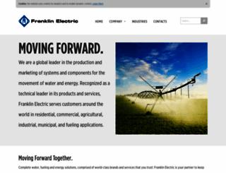 franklin-electric.com screenshot