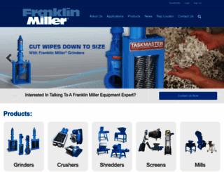 franklinmiller.com screenshot