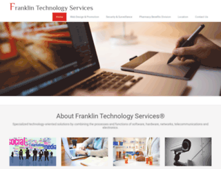 franklintechnologyservices.com screenshot
