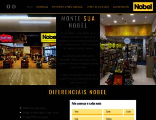 franquianobel.com.br screenshot