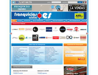 franquiciasaldia.es screenshot