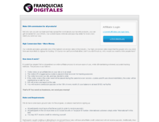 franquiciasdigitales.com screenshot