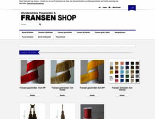 fransen-shop.de screenshot