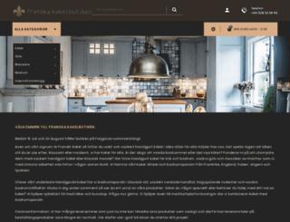 franskakakelbutiken.com screenshot