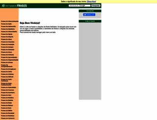 frases.netsaber.com.br screenshot