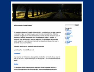 frasesgratis.es screenshot
