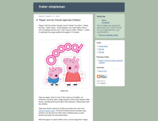 frater-simpleman.blogspot.com.es screenshot