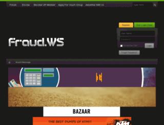 fraud.ws screenshot