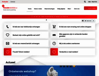 fraudehelpdesk.nl screenshot