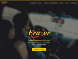 frazer.com screenshot