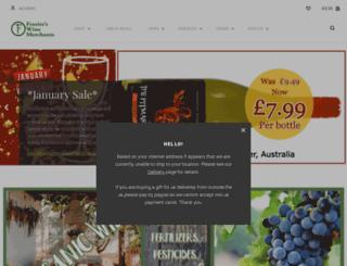 frazierswine.co.uk screenshot