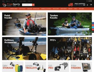 freaksports.com.au screenshot