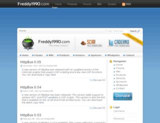 freddy1990.com screenshot