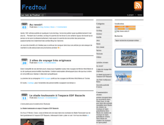 fredtoul.fr screenshot