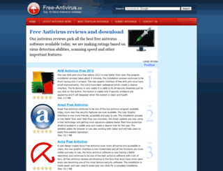 free-antivirus.co screenshot