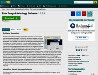 free-bengali-astrology-software.soft112.com screenshot