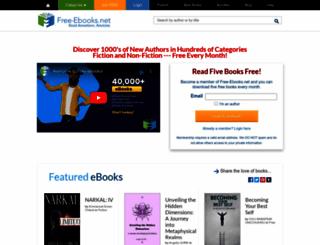 free-ebooks.net screenshot