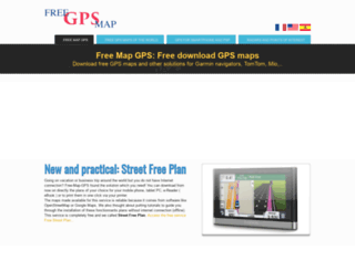 free-map-gps.com screenshot