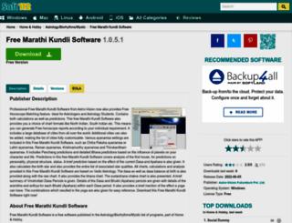 free-marathi-kundli-software.soft112.com screenshot