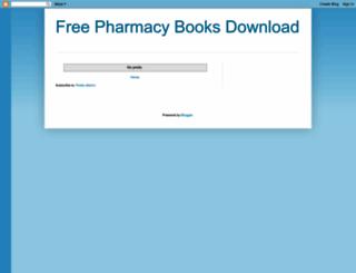 free-pharmacy-books.blogspot.com screenshot