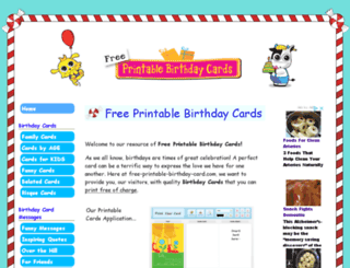 free-printable-birthday-card.com screenshot