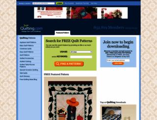 free-quilting.com screenshot