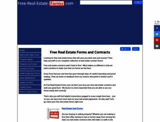 free-real-estate-forms.com screenshot